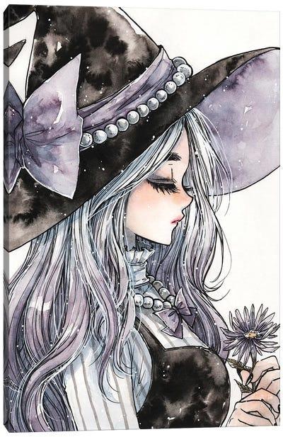 Lavender Witch Canvas Art Print