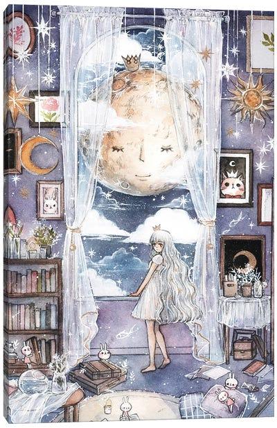 Moon Lullably Canvas Art Print