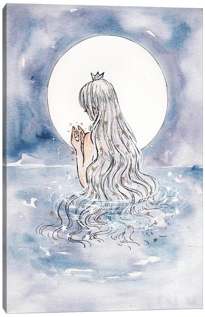 Moon Shine Canvas Art Print