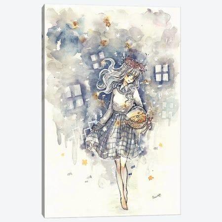 Star Collector Canvas Print #CRK29} by Cherriuki Canvas Artwork