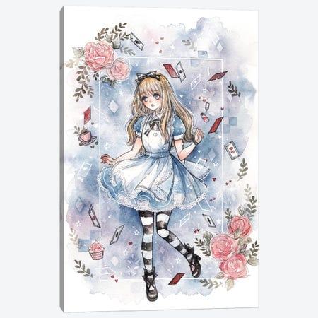 Alice Canvas Print #CRK2} by Cherriuki Canvas Wall Art