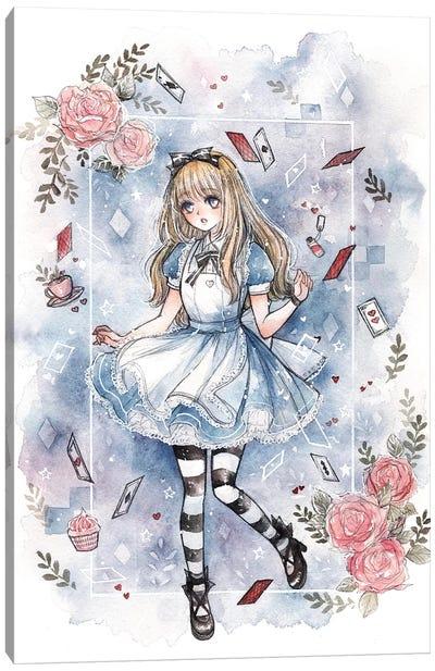 Alice Canvas Art Print