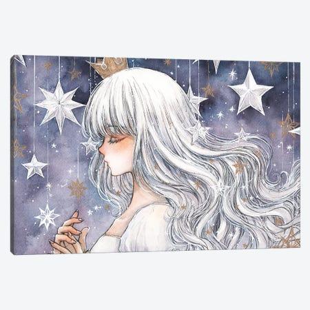 The Stars & You Canvas Print #CRK34} by Cherriuki Canvas Artwork