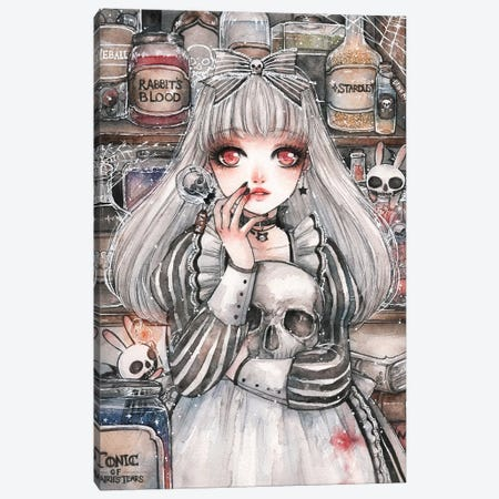 Alice of the Dead Canvas Print #CRK3} by Cherriuki Canvas Art