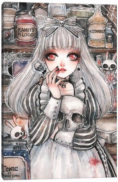 Alice of the Dead Canvas Art Print