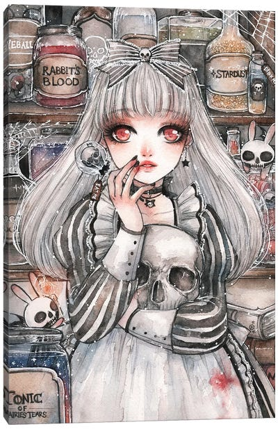 Alice of the Dead Canvas Art Print
