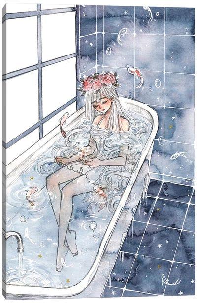 Bath Canvas Art Print