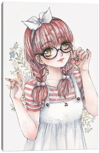 Cherry Canvas Art Print