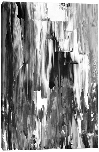 Melted Canvas Art Print