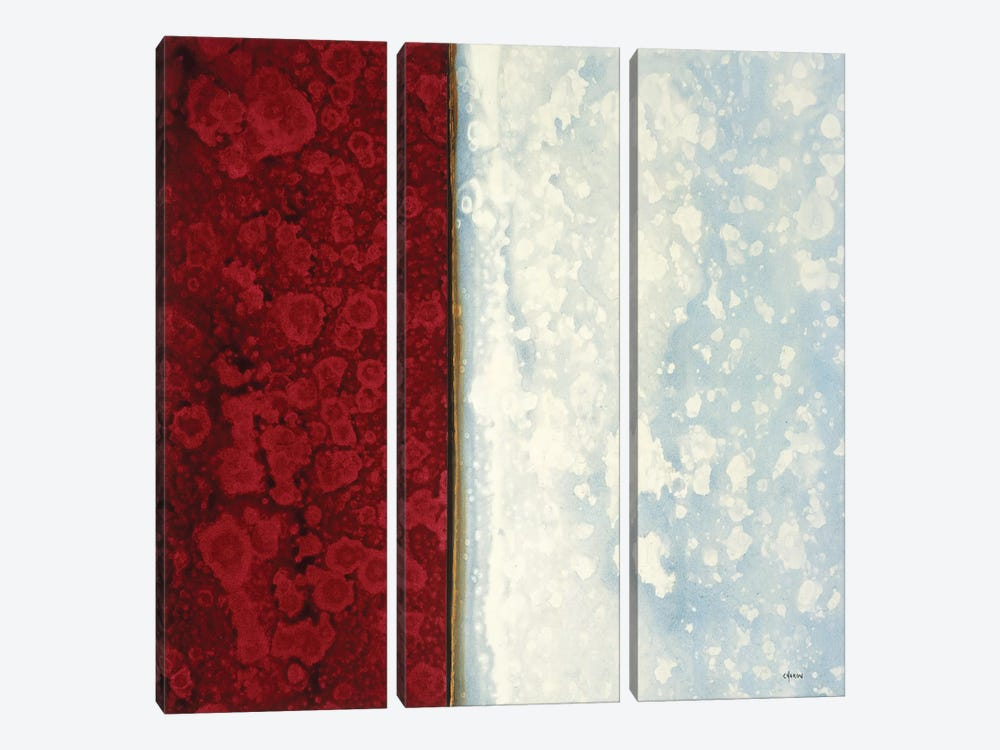 Garnet by Robert Charon 3-piece Canvas Art