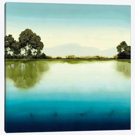 Azure Lake Canvas Print #CRN1} by Robert Charon Canvas Art Print