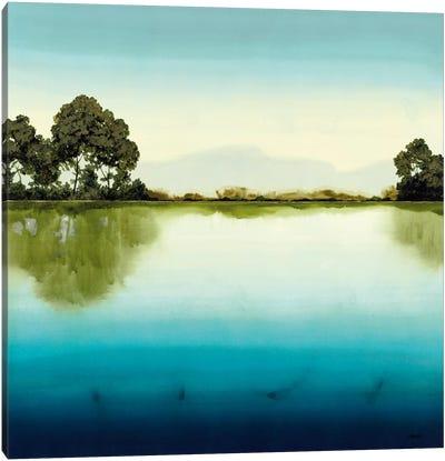 Azure Lake Canvas Art Print