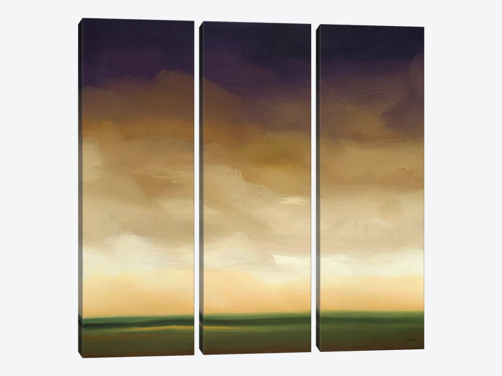 Distant Light IV by Robert Charon 3-piece Canvas Art Print