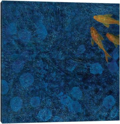 Evening Koi Canvas Art Print
