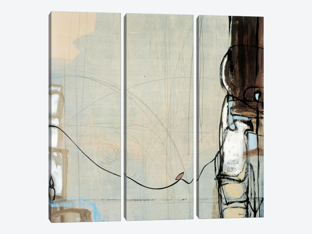 Projection I by Robert Charon 3-piece Canvas Art Print
