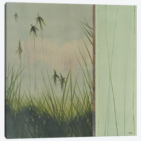 Zen Garden II 3-Piece Canvas #CRN81} by Robert Charon Canvas Print