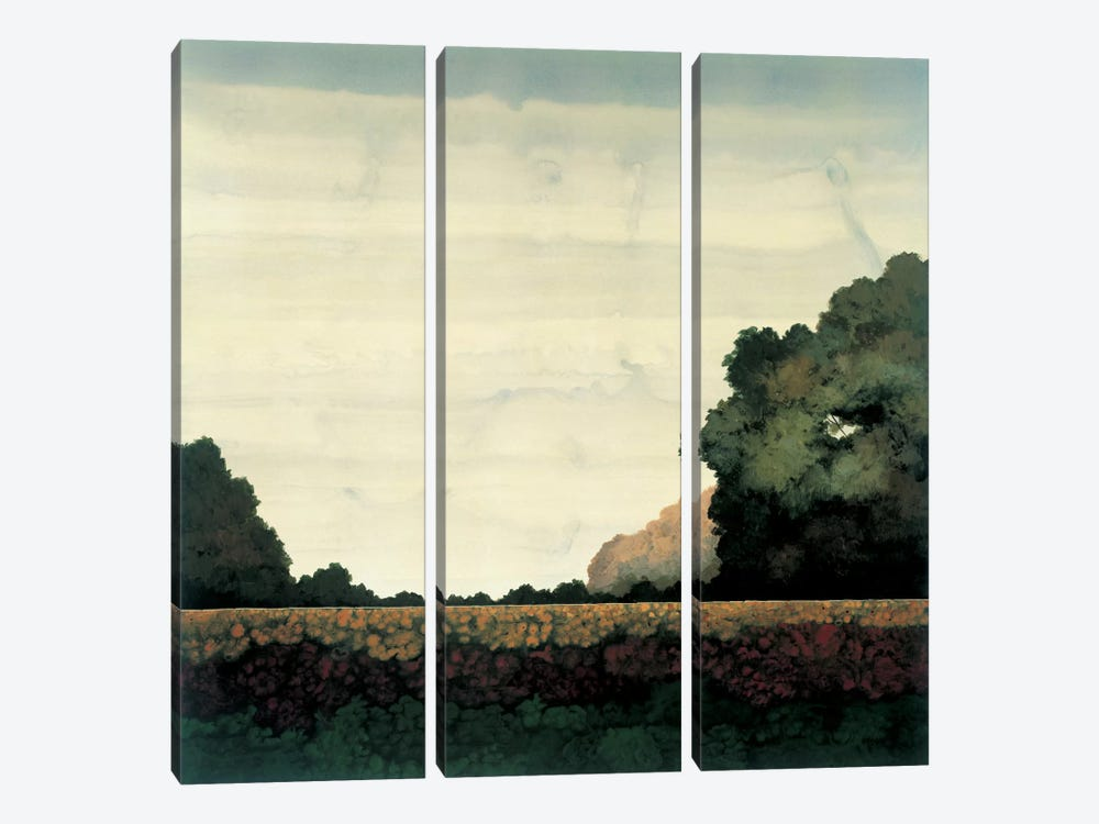 Tree Line I by Robert Charon 3-piece Canvas Print