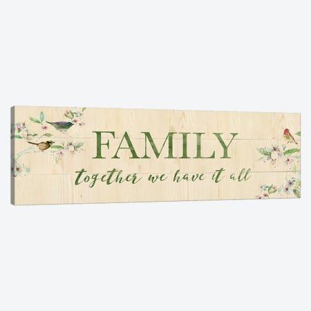Family Together Canvas Print #CRO1000} by Carol Robinson Canvas Wall Art