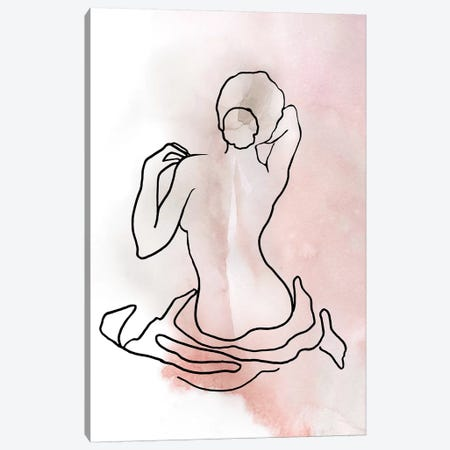 Figure Sketch II Canvas Print #CRO1002} by Carol Robinson Canvas Wall Art
