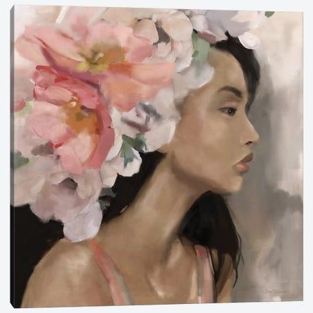 Flower Crown Canvas Print #CRO1007} by Carol Robinson Canvas Print