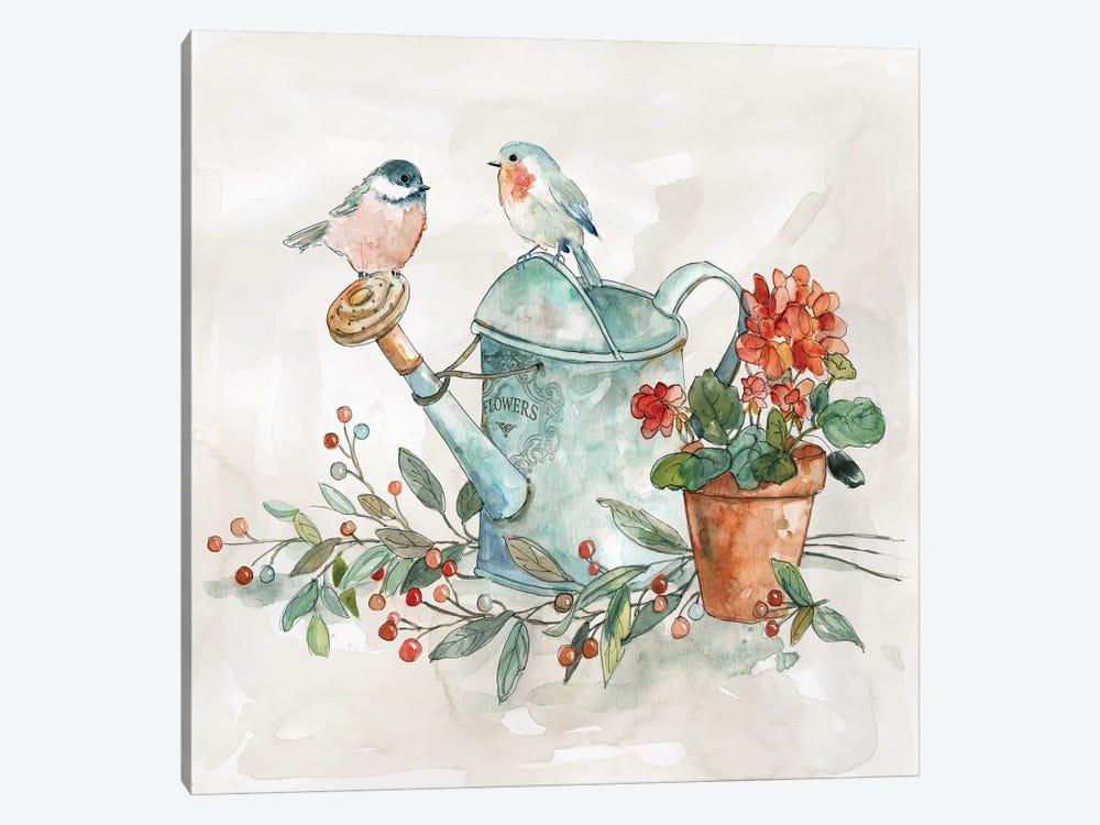 Garden Glimpse I by Carol Robinson 1-piece Canvas Print