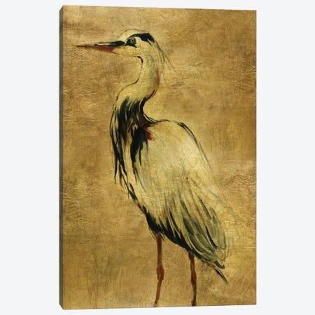 Gold Crane at Dusk II Canvas Print #CRO1015} by Carol Robinson Canvas Artwork