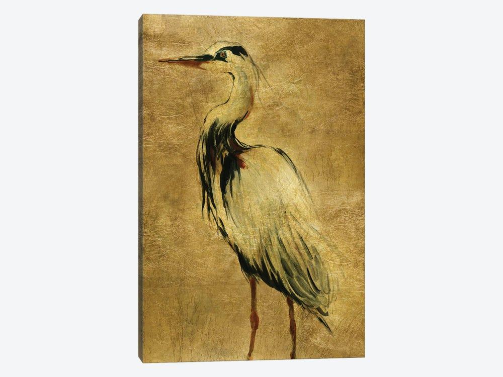 Gold Crane at Dusk II by Carol Robinson 1-piece Canvas Print