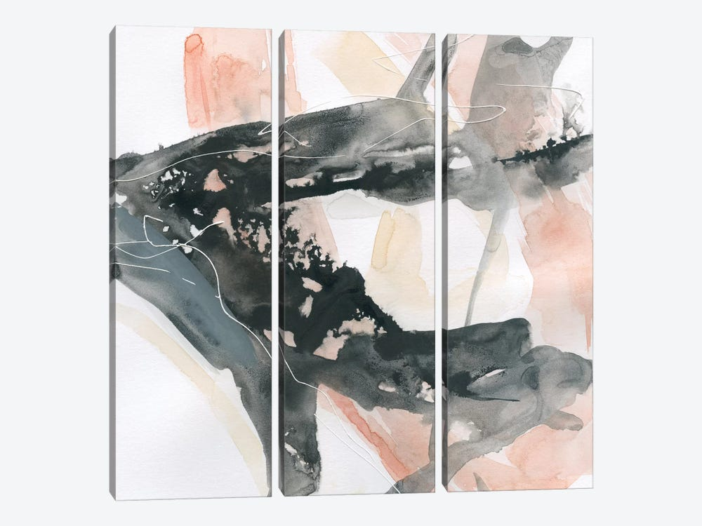 Intersection I by Carol Robinson 3-piece Canvas Print