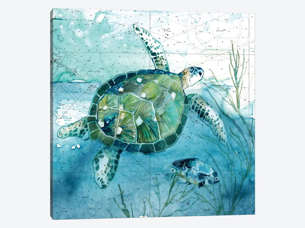 Island Swim I by Carol Robinson 1-piece Art Print
