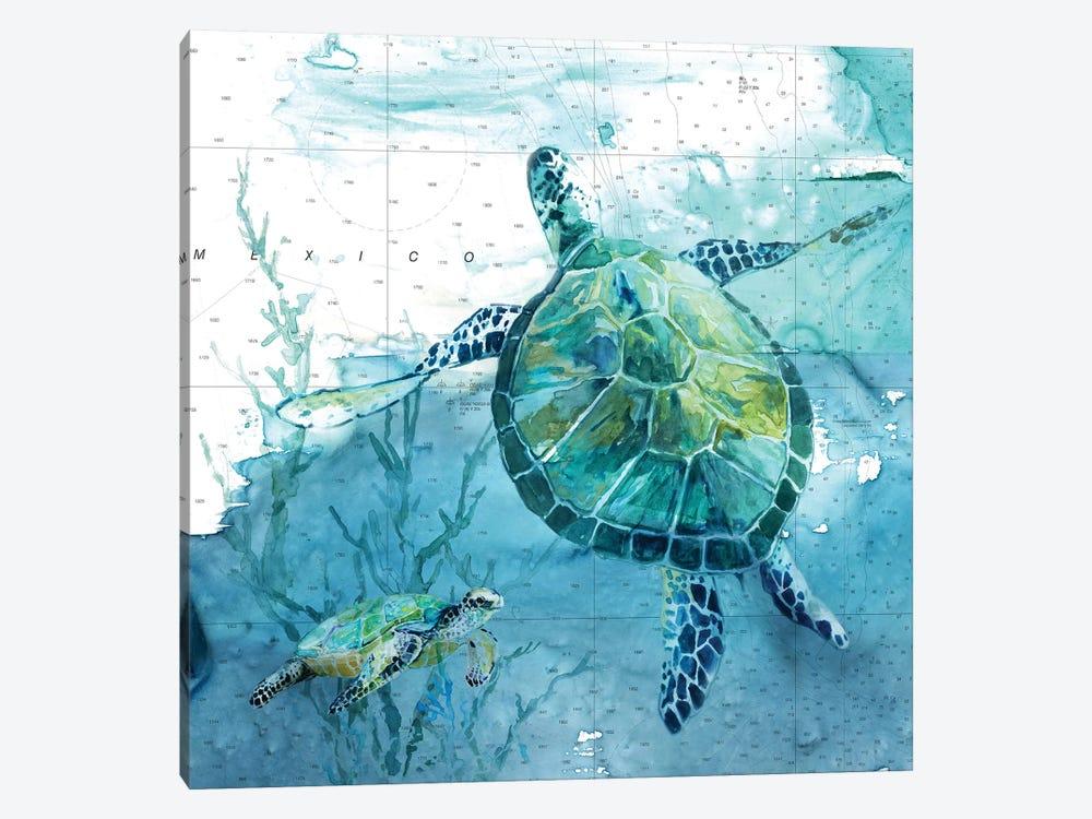Island Swim II by Carol Robinson 1-piece Canvas Art
