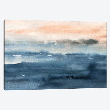 Lake Sunrise Canvas Print #CRO1025} by Carol Robinson Canvas Art Print
