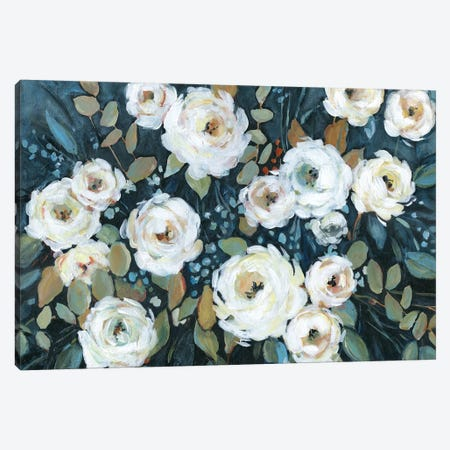 Moonlit Garden I Canvas Print #CRO1032} by Carol Robinson Canvas Print