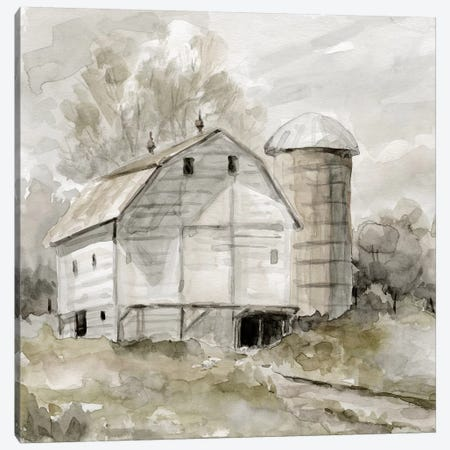 Neutral Silo 3-Piece Canvas #CRO1035} by Carol Robinson Canvas Wall Art