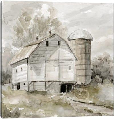 Neutral Silo Canvas Art Print