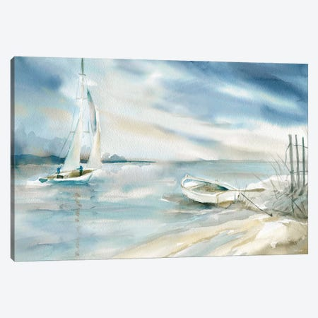 Subtle Sail Canvas Print #CRO1055} by Carol Robinson Canvas Art