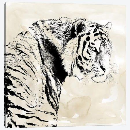 Tiger Stripes I Canvas Print #CRO1063} by Carol Robinson Canvas Artwork