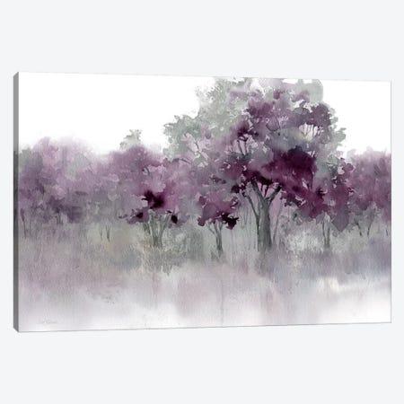 Water's Edge II - Purple Canvas Print #CRO1074} by Carol Robinson Canvas Artwork