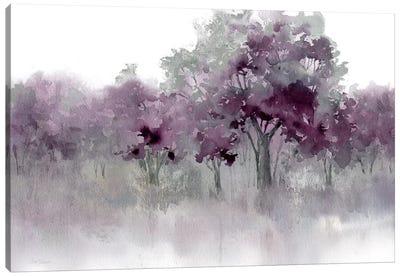 Water's Edge II - Purple Canvas Art Print