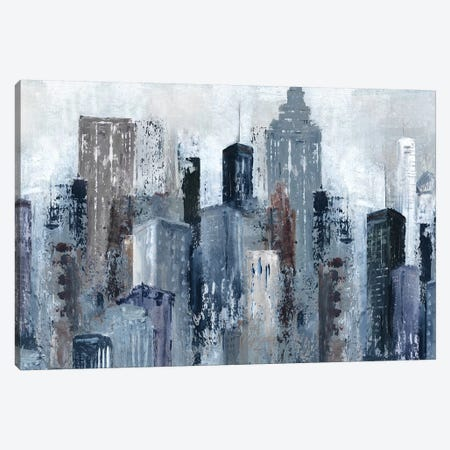 City Mood Canvas Print #CRO1079} by Carol Robinson Canvas Art Print