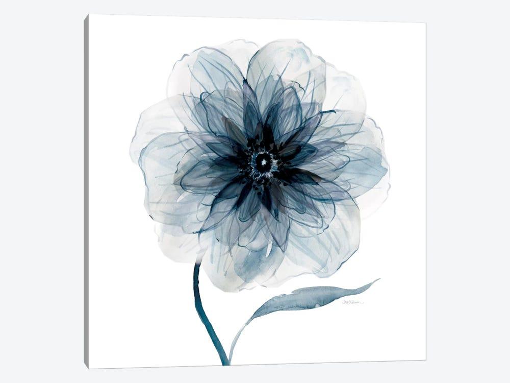 Indigo Bloom III by Carol Robinson 1-piece Canvas Print