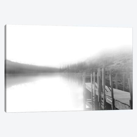 Mist on the Docks Canvas Print #CRO1086} by Carol Robinson Canvas Print