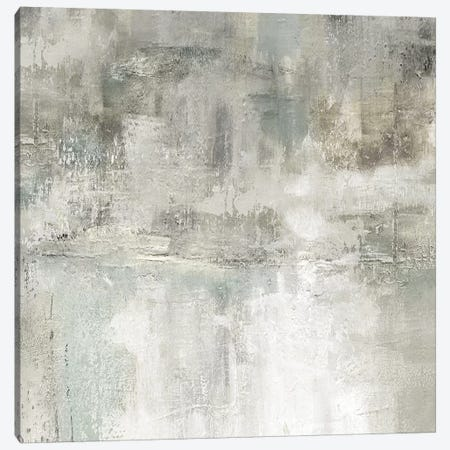 Misty Lake Canvas Print #CRO1088} by Carol Robinson Canvas Artwork