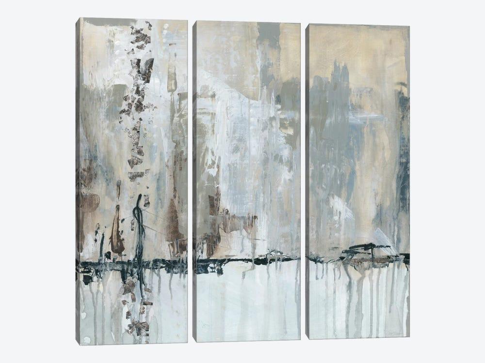 Midtown Music by Carol Robinson 3-piece Canvas Art