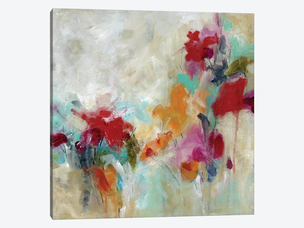 Spectrum Floral by Carol Robinson 1-piece Canvas Art