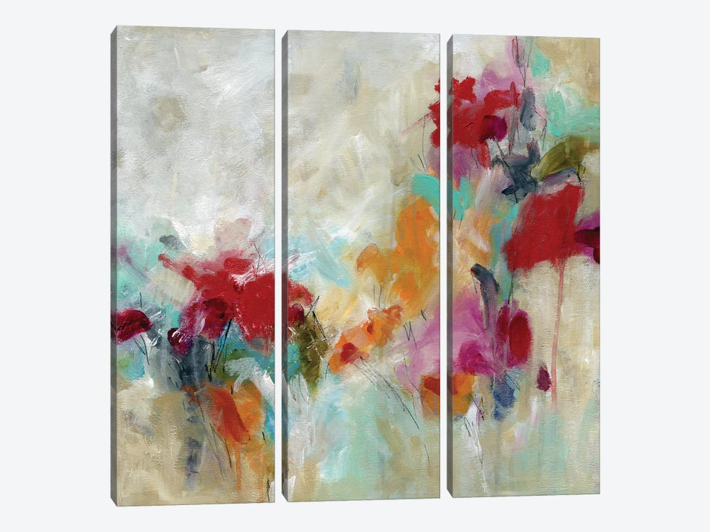 Spectrum Floral by Carol Robinson 3-piece Canvas Wall Art