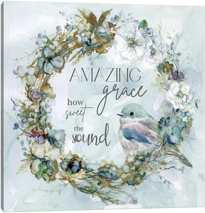Amazing Grace Canvas Art Print