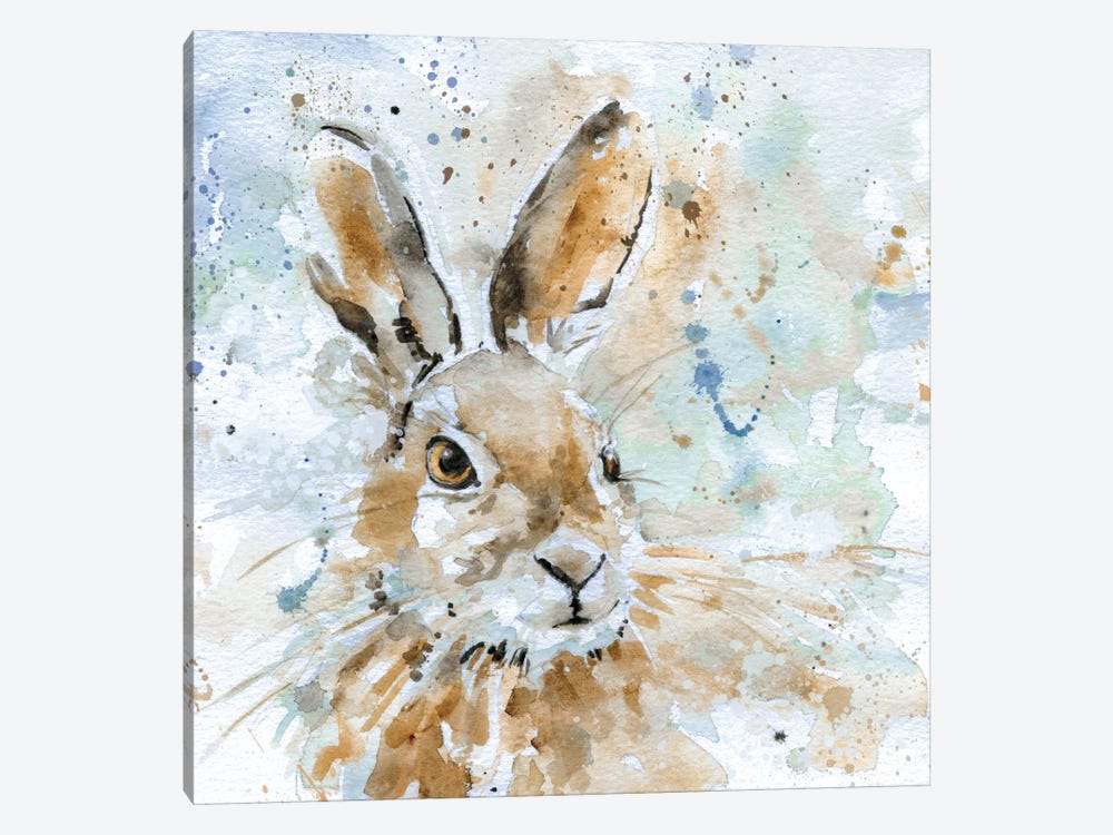 Hare by Carol Robinson 1-piece Canvas Art