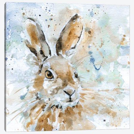 Hare Canvas Print #CRO10} by Carol Robinson Canvas Art Print