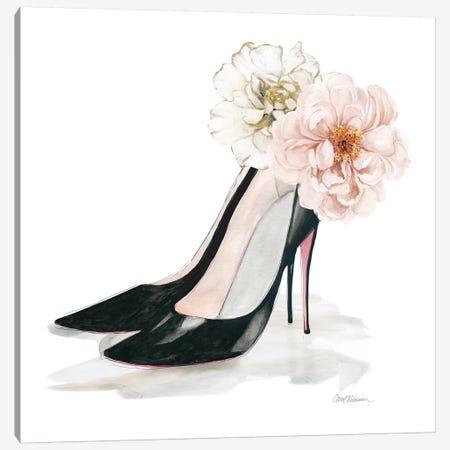 Florals Heels Canvas Print #CRO1114} by Carol Robinson Canvas Print