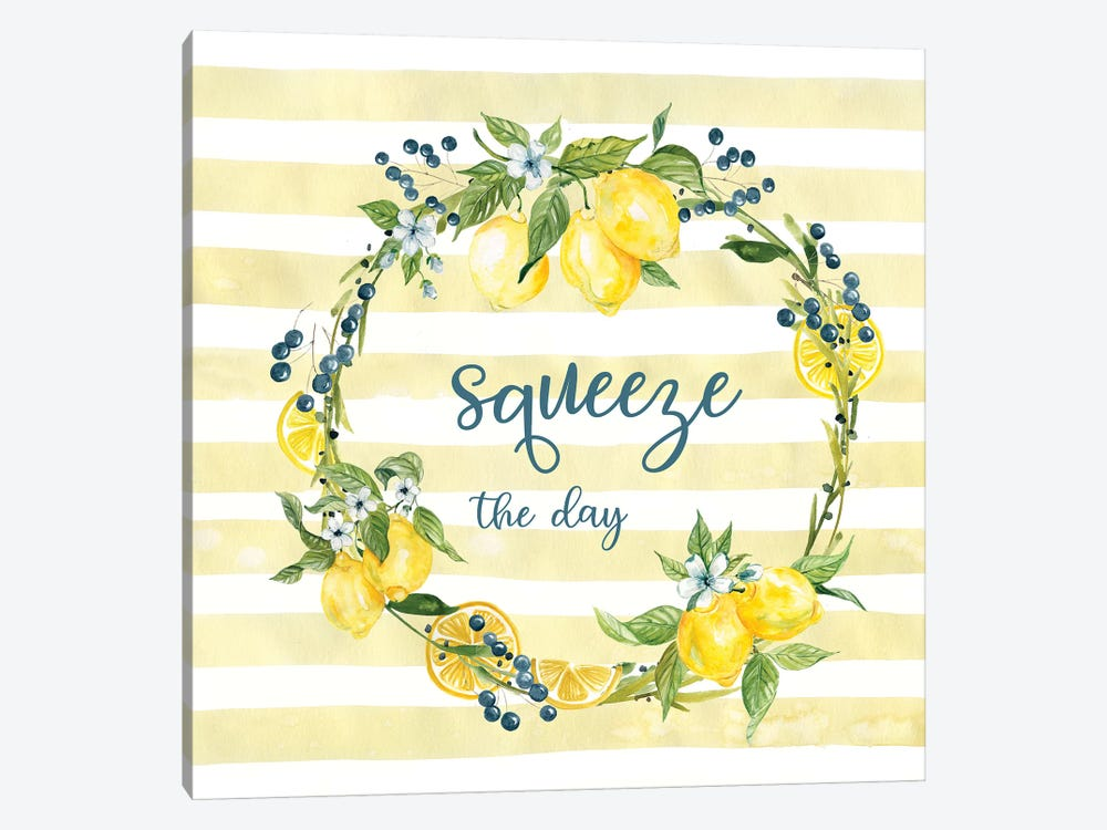 Squeeze The Day by Carol Robinson 1-piece Art Print